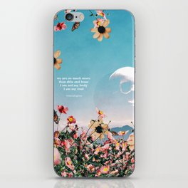 Original Poetry: Soul iPhone Skin