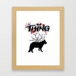 Carpenter Thing Framed Art Print