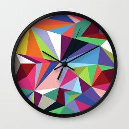 Neo-Geo: Soirée Wall Clock