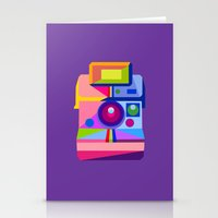 polaroid Stationery Cards featuring Polaroid by MaNia Creations