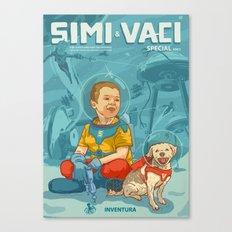 Simi & Vaci Canvas Print