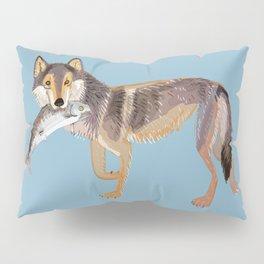 Totem Coastal wolf (c) 2017 Pillow Sham