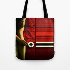 red-girl Tote Bag