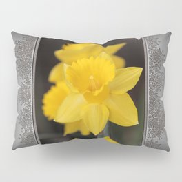 Trumpet Daffodil named Exception Pillow Sham