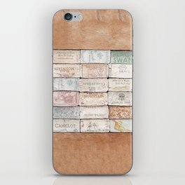 Wine Cork Trivet iPhone Skin