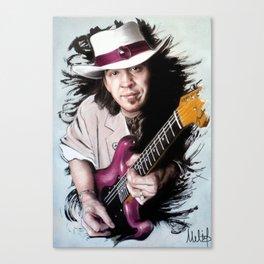 Stevie Ray Vaughan Canvas Print
