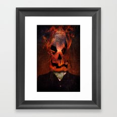 Jack Scratch Framed Art Print
