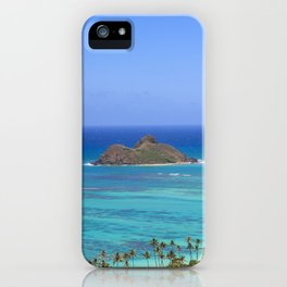 Ocean View Form The Mountain|Hawaii iPhone Case