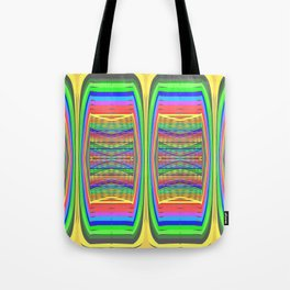 Mobile-style-pattern Tote Bag
