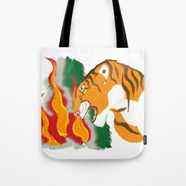 Voice of Nature Tote Bag