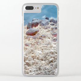 Big Rock Mountain Clear iPhone Case