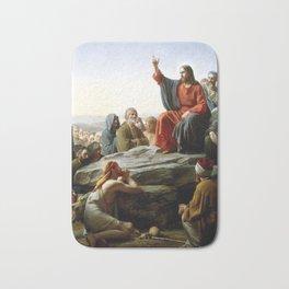 Carl Heinrich Bloch Sermon on the Mount 1877 Bath Mat