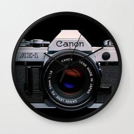 Canon AE-1 Wall Clock