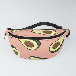 Avocado Pattern in Pink Fanny Pack