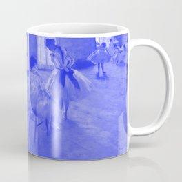 Classic Art - The Dance Lesson - Edgar Degas Coffee Mug