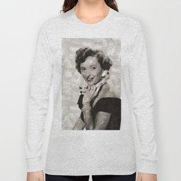 Barbara Stanwyck, Hollywood Legend Long Sleeve T-shirt