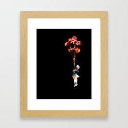 Banksy Balloon Girl Framed Art Print