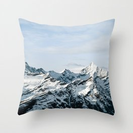 Mountain #landscape photography Throw Pillow