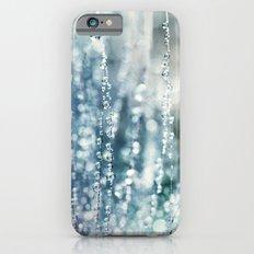 Blue Grass Drops Slim Case iPhone 6
