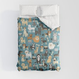 Cute Puppies Little Dogs Comforters