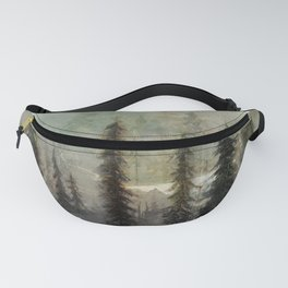 Mountain Black Bear Fanny Pack