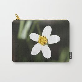 White Flower - Cuzco Carry-All Pouch
