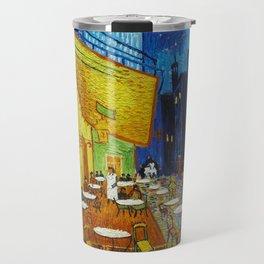 "Vincent van Gogh ""Cafe Terrace, Place du Forum, Arles"" Travel Mug"
