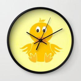 Quack Quack Duck Wall Clock