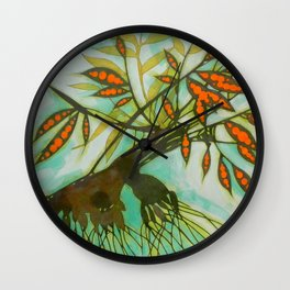 withered tree (original sold) Wall Clock