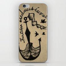 Anchor, Navy Birds iPhone & iPod Skin