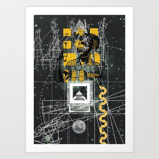 Fome Do Cão (Hungry As Hell) Art Print