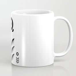 Retro Nordic Black & White Coffee Mug