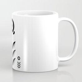 Retro Nordic Black & White Coffee Mug
