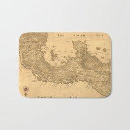 Vintage Map of Panama (1800) Bath Mat