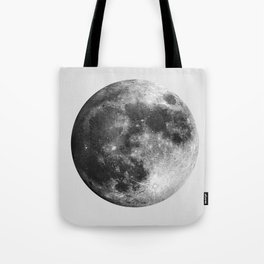 Full Moon Watercolour Art | Minimalism Tote Bag