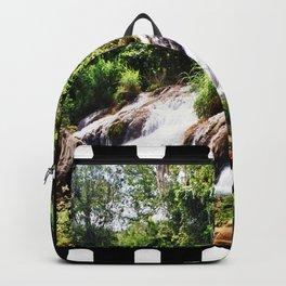 Jungle waterfall Backpack