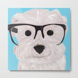 Happy Puppy Metal Print