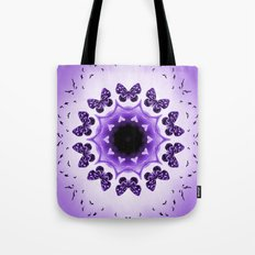 All things with wings (purple) Tote Bag