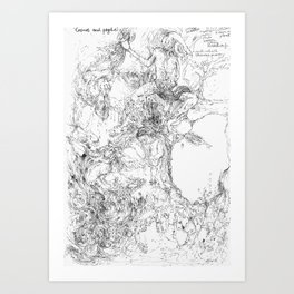 Cosmos and Psyche Art Print