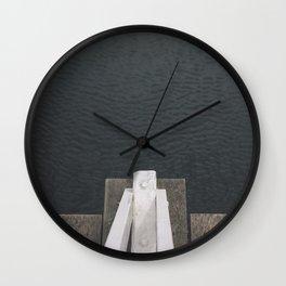 Looking down Wall Clock