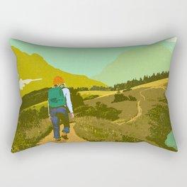 WARM TRAILS Rectangular Pillow