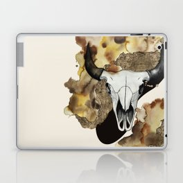 Buffalo Skull by carographic Laptop & iPad Skin