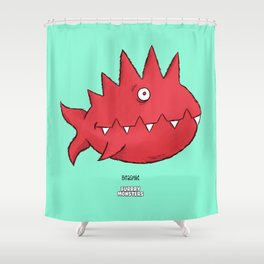 Bitaspike Shower Curtain