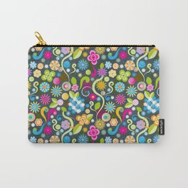 Psychedelic Power Flower Carry-All Pouch