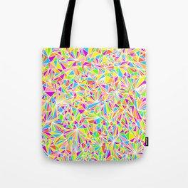 Pure Geometry White Tote Bag