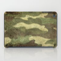 camo iPad Cases featuring Dirty Camo by Bruce Stanfield