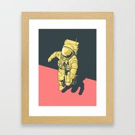 X-Over Framed Art Print