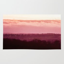 Sunset in Pink bywhacky Rug