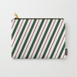 Peppermint Candy Cane Carry-All Pouch