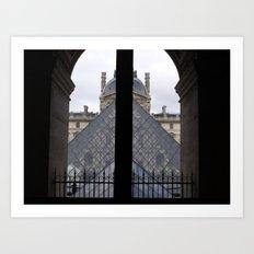 Louvre Pyramid Art Print